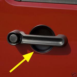סט כפתורי אטימה לדלתות רנגלר JK עם 4 דלתות שחור