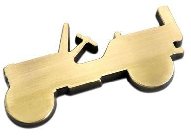 מדבקת צללית ג'יפ 42 צבע זהב
