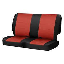 סט כיסוי לכיסאות אדום אפור אחורי JK 2 דלתות 07-12