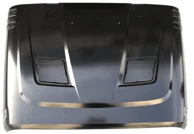 מכסה מנוע עם פתחי איוורור עליונים רנגלר JK